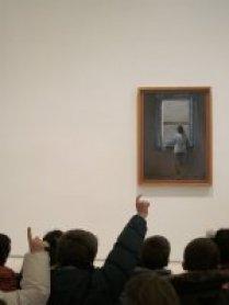 Ante Muchacha en la ventana, de Salvador Dalí, 2011