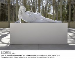 Vista de la exposición Charles Ray. Cuatro moldes