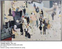 Richard Hamilton. Trafalgar Square, 1965-1967