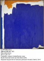 Clyfford Still. 1951-D, PH 131, 1951