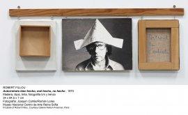 Robert Filliou. Autorretrato bien hecho, mal hecho, no hecho, 1973