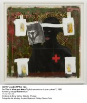 Kerry James Marshall, So This Is What You Want? (¿Así que esto es lo que quieres?), 1992