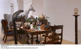 Vista de sala / gallery view El tiempo y las cosas. La casa-estudio de Hanne Darboven (imagen 3)