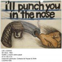 Lee Lozano.  Forzar la máquina