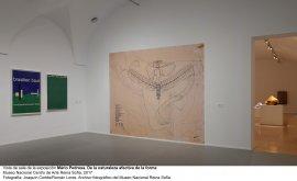 Vista de sala de la exposición Mario Pedrosa. De la naturaleza afectiva de la forma (
