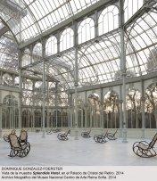Vista de sala / gallery view Dominique Gonzalez-Foerster. SPLENDIDE HOTEL (imagen 1)