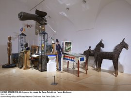 Vista de sala / gallery view El tiempo y las cosas. La casa-estudio de Hanne Darboven (imagen 5)