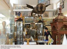Inside view of Hanne Darboven's studio. Courtesy: Hanne Darboven Foundation, Hamburgo. Photographer: © Rainer Bolliger