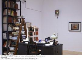 Vista de sala / gallery view El tiempo y las cosas. La casa-estudio de Hanne Darboven (imagen 6)