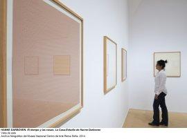 Vista de sala / gallery view El tiempo y las cosas. La casa-estudio de Hanne Darboven (imagen 8)