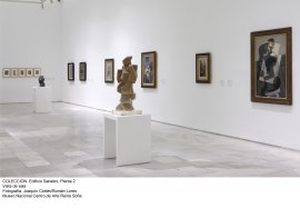 Colección 1. Edificio Sabatini, Planta 2. Vista de sala (3)