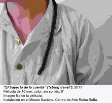 Leonor Antunes. camina por ahí. mira por aquí / Walk around there. look through here(imagen 07)
