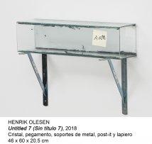 Henrik Olesen. Untitled 7 (Sin título 7). 2018