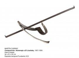Martín Chirino, Composición. Homenaje a El Lissitsky, 1957-1958
