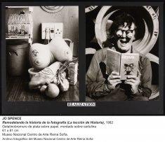 Jo Spence, Remodelando la historia de la fotografía (La lección de historia), 1982