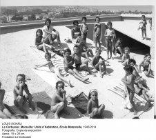 Louis Sciarli. Le Corbusier. Marseille: Unité d'habitation, École Maternelle, 1945/2014