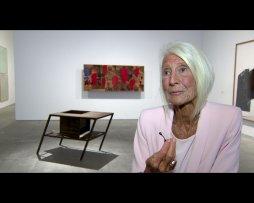 Declaraciones de la galerista Soledad Lorenzo sobre la exposición Punto de Encuentro