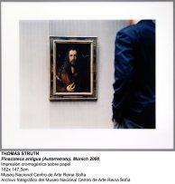 Thomas Struth, Pinacoteca antigua (Autorretrato), Múnich 2000