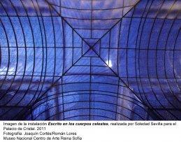 Soledad Sevilla. Escrito en los cuerpos celestes