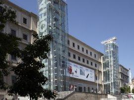 Museo Reina Sofía. Sabatini building. Facade