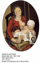 Maria Blanchard-Maternidad oval