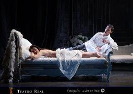 Imagen de la representación de La Traviata