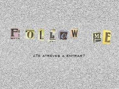 Follow me, taller preparado por Equipo