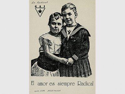BY-NC-ND / ¿Archivo queer? (Centro de Documentación del MNCARS). El amor es siempre radical. Madrid, La Radical Gai, ca. 1992