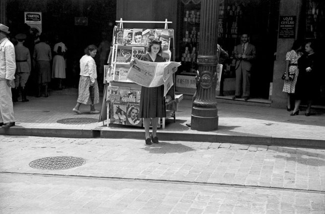 Hildegarde Rosenthal. Untitled (urban scene in Sao Paulo). Photography, c. 1940