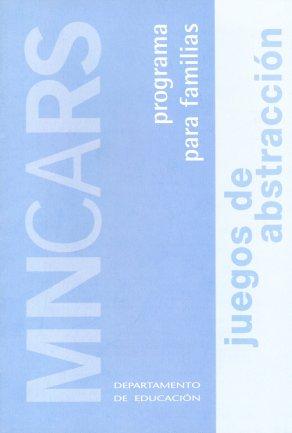 Portada de la guía para familias Juegos de abstracción.Museo Reina Sofía, 2005.