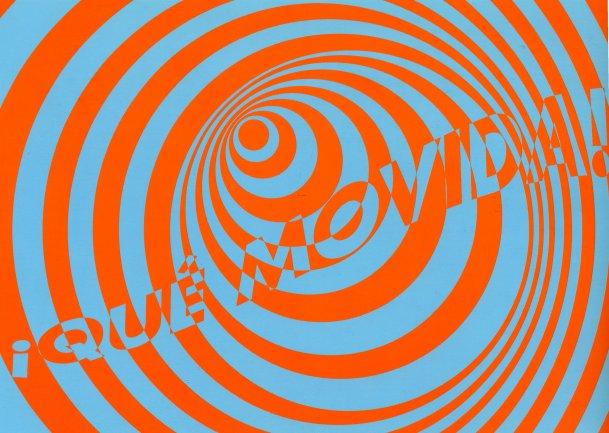Tarjetón diseñado para la difusión de la actividad. Museo Reina Sofía, 2007