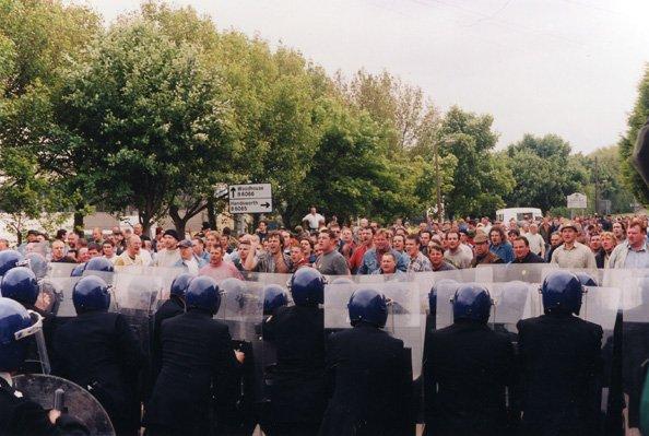 Jeremy Deller y Mike Figgis. The Battle of Orgreave, 2002