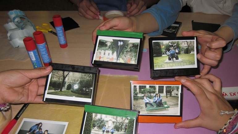 Práctica de documentación y ficción por parte de los alumnos