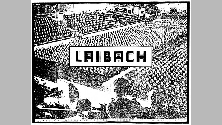 Laibach in the XII Music Bienal, Zagreb 1983