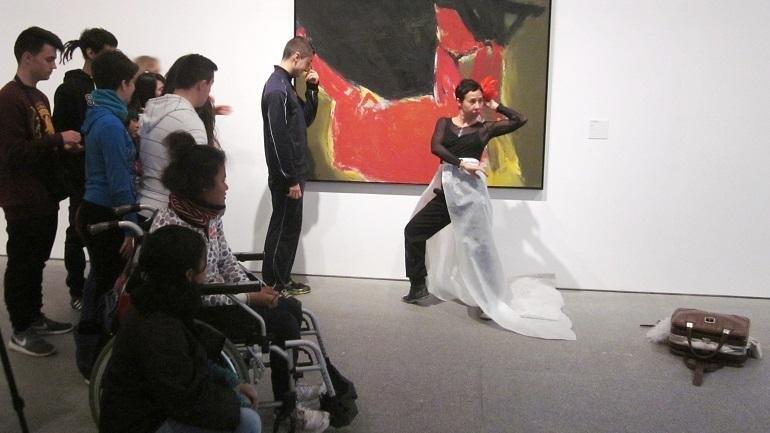 Trabajo centrado en el color, a través de obras como la de José Guerrero