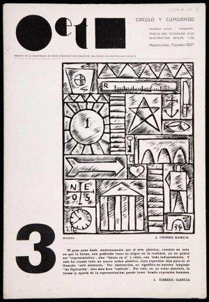 Joaquín Torres-García. Revista Círculo y cuadrado, nº 3, Asociación de Arte Constructivo, Montevideo, Febrero 1937. Biblioteca y Centro de Documentación, Museo Nacional Centro de Arte Reina Sofía, Madrid