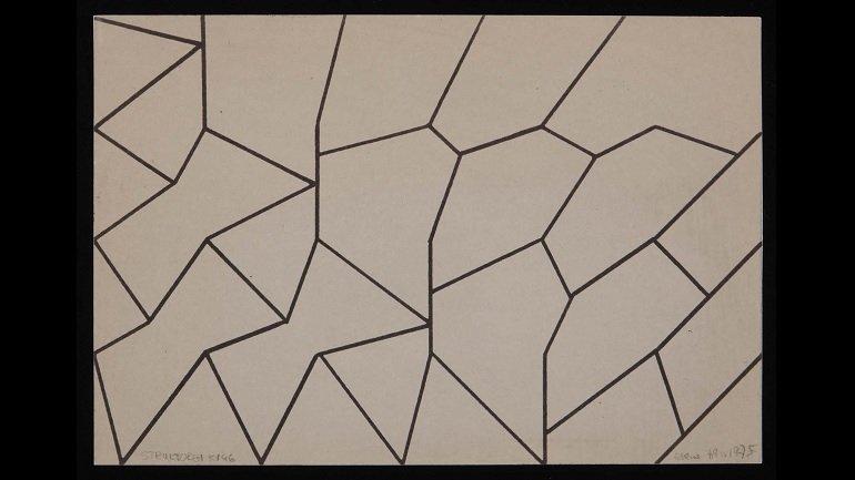 Elena Asins. Strukturen KV 46 (Estructuras KV 46), 2009. Colección Museo Reina Sofía