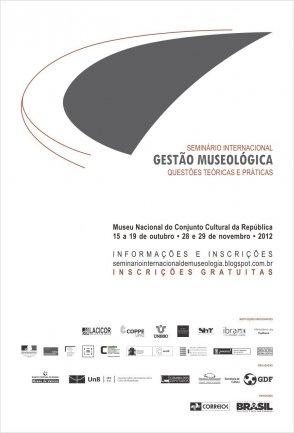 Seminario Internacional sobre Gestión Museológica en Brasilia (Brasil)