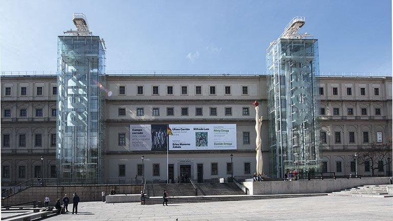 Fachada del Edificio Sabatini, Museo Reina Sofía