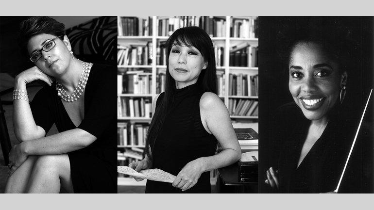 MadWomenFest. Gabriela Ortiz, Unsuk Chin, Tania León.