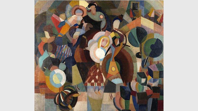 Eduardo Viana. A revolta das bonecas, 1916. Museu Nacional de Arte Contemporânea do Chiado