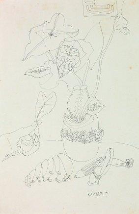 Raphael Domingues. Sin título, 1949. Cortesía Museu de Imagens do Inconsciente