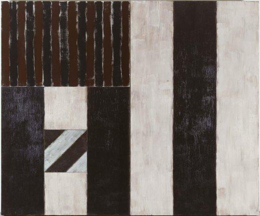 Sean Scully. Black Robe, 1987. Painting. Museo Nacional Centro de Arte Reina Sofía Collection, Madrid