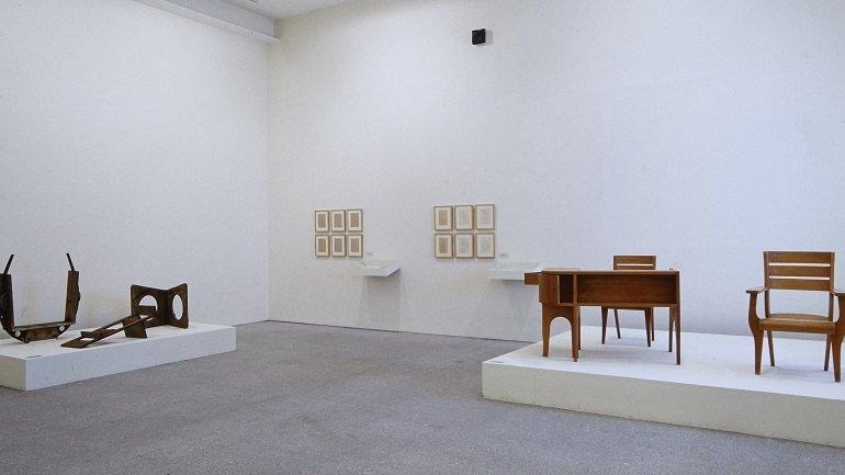 Vista de sala de la exposición. Ángel Ferrant, 1999