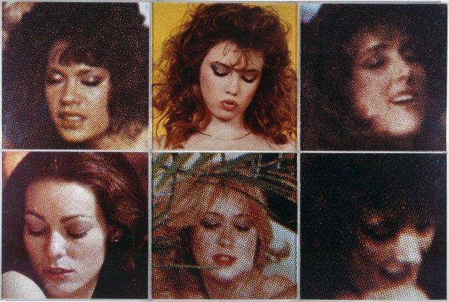 Jiri Georg Dokoupil. Madonnas in Ecstasy, 1987. Photography. Museo Nacional Centro de Arte Reina Sofía Collection, Madrid