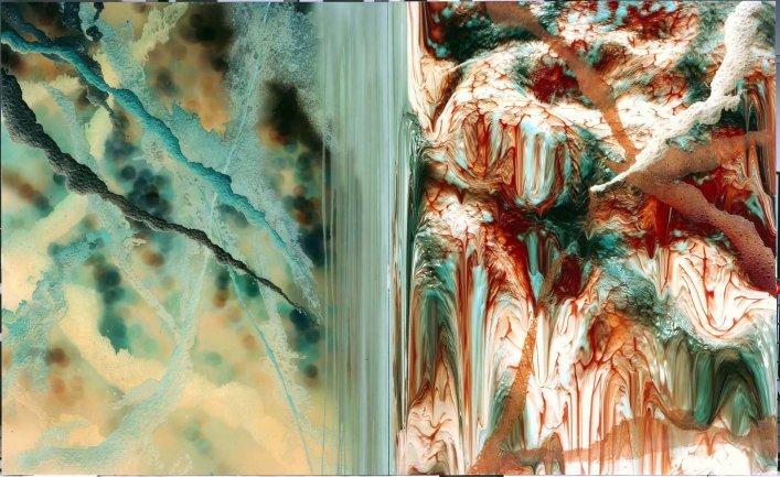 Dario Urzay. A negative view-observator virtual, 2002. Pintura. Colección Museo Nacional Centro de Arte Reina Sofía, Madrid