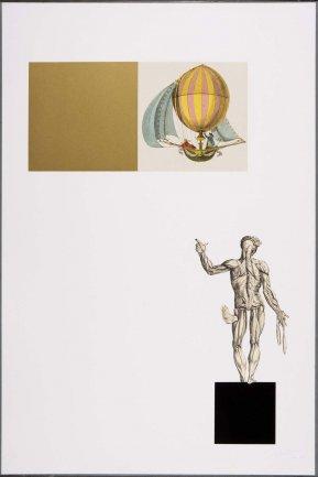 Gustavo Torner de la Fuente. Sin título, Vesalio, el cielo, las geometrías y el mar, 1964-1966. Dibujo, Arte gráfico. Colección Museo Nacional Centro de Arte Reina Sofía, Madrid
