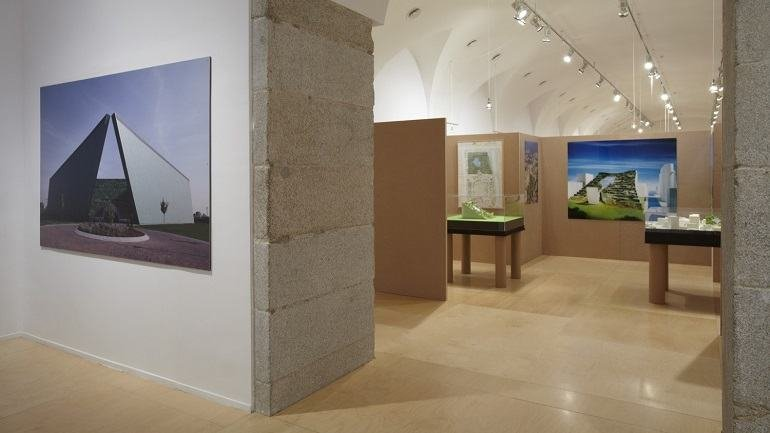 Exhibition view. Emilio Ambasz. Inventions: Architecture and Design, 2011