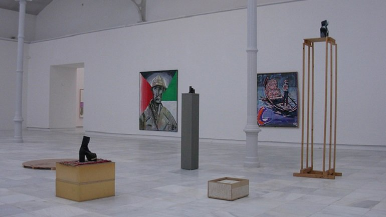 Exhibition view. Martin Kippenberger. Pinturas, 2004. Photo: Estudio Enguita & Lasso de la Vega‏