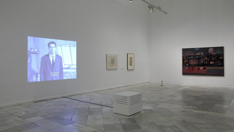 Vista de sala de la exposición. Formas biográficas, 2013